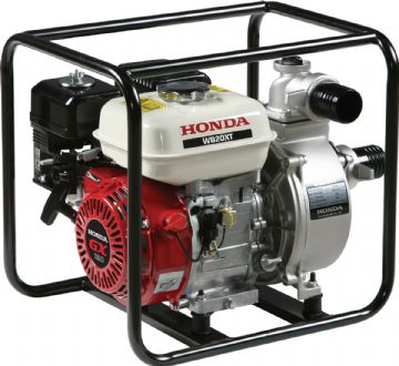 Honda WH20 Water Pump in Carry Frame Part No: WH20